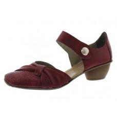 Rieker női cipő  Rot