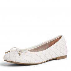 Tamaris cipő női Őszi-tavaszi Cream/Logo