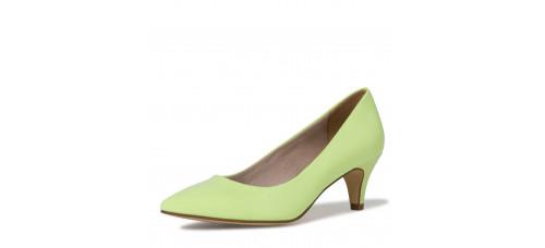 Tran Co Tamaris cipő női Őszi tavaszi Lime patent