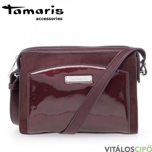 a48735d7fe52 Tran-Co - Tamaris táska - Bordeaux comb