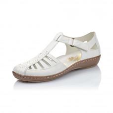 Rieker női cipő Nyári Weiss