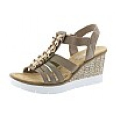 Rieker női cipő Nyári Beige