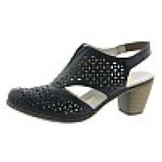 Rieker női cipő  Schwarz